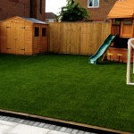 Artificial Grass Children's Play Area