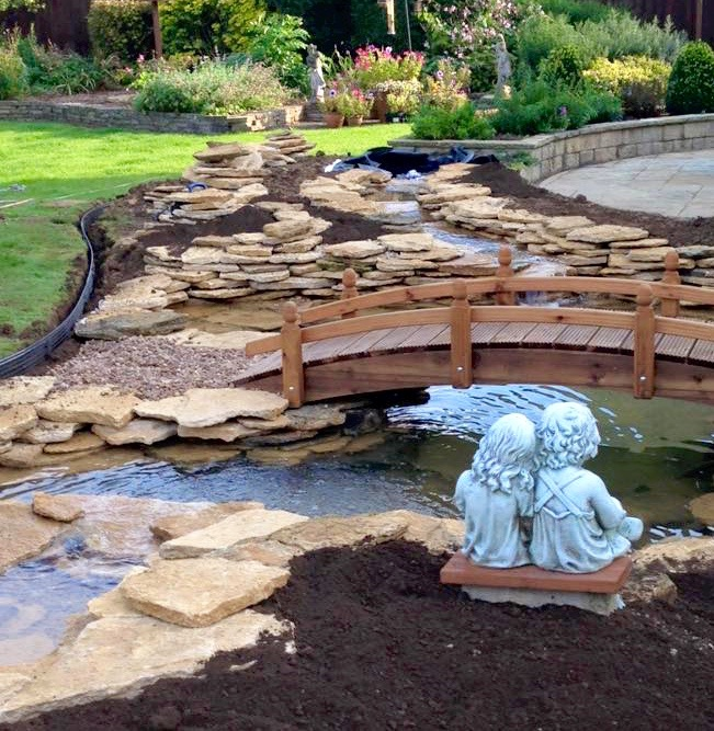 Garden water feature gardenezee for Garden design features
