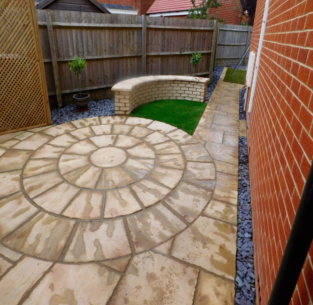 Garden Design Wroughton Patio Seating Area