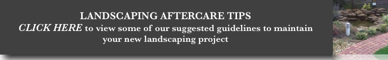 Garden Ezee Landscaping Aftercare