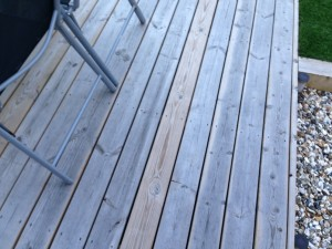 Treated or Untreated timber used for decking