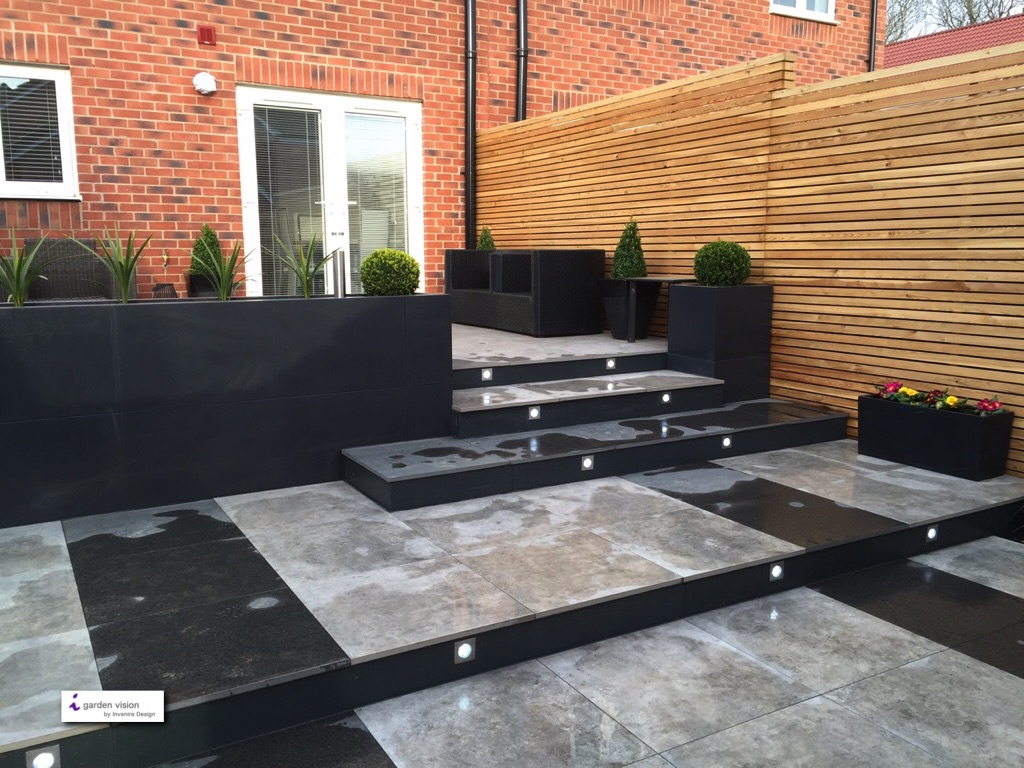Modern contemporary garden design build swindon wiltshire - What is contemporary design ...