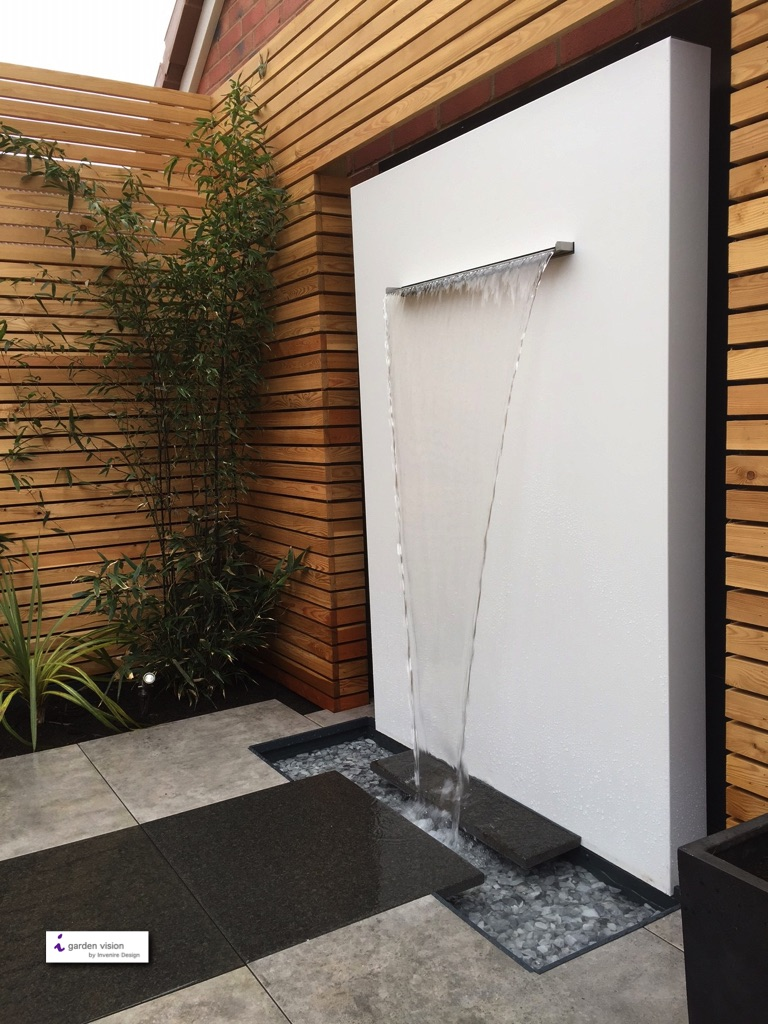 Modern Garden Design Water Feature Gardenezee